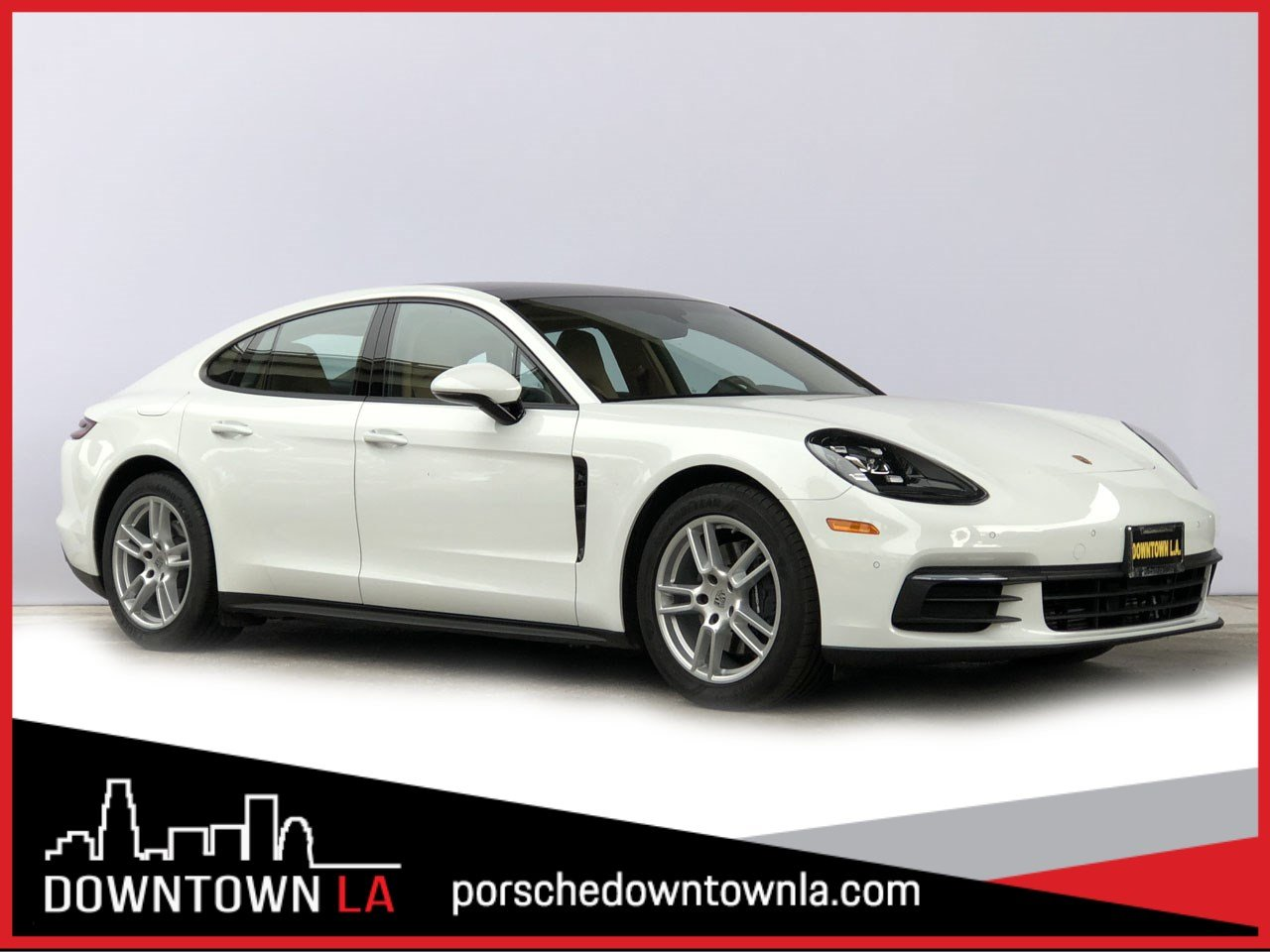Certified Pre-Owned 2017 Porsche Panamera 4 RWD Hatchback