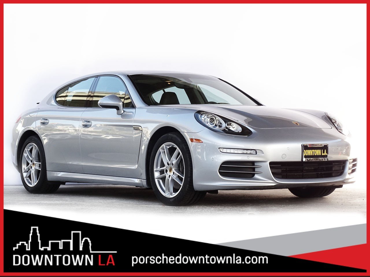 Certified Pre-Owned 2014 Porsche Panamera 4 With Navigation & AWD