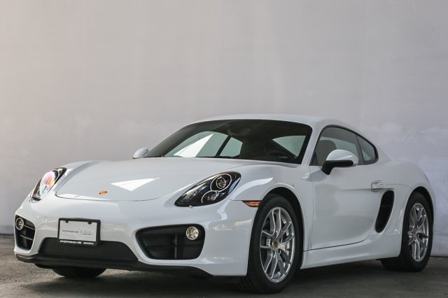 Certified Pre-Owned 2016 Porsche Cayman