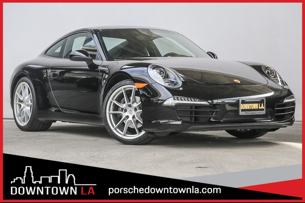 certified pre-owned 2016 porsche 911 carrera 2dr car in los angeles