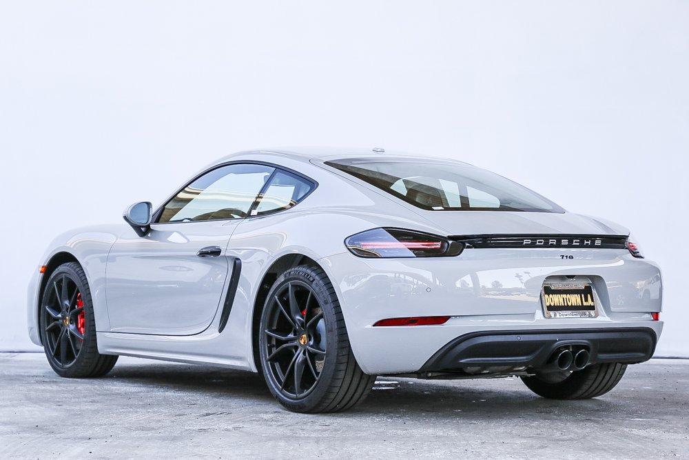 New 2019 Porsche 718 Cayman S