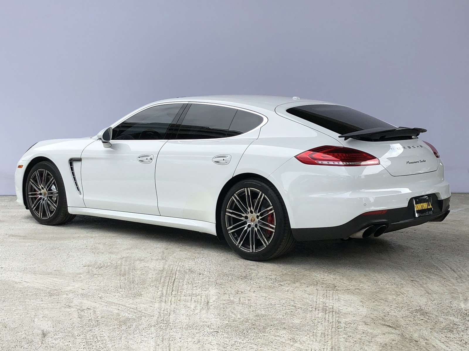 Certified Pre Owned 2015 Porsche Panamera Turbo Hatchback in Los