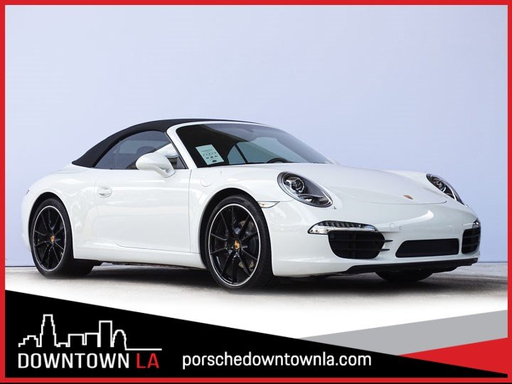 Certified Pre-Owned 2016 Porsche 911 Carrera RWD Convertible