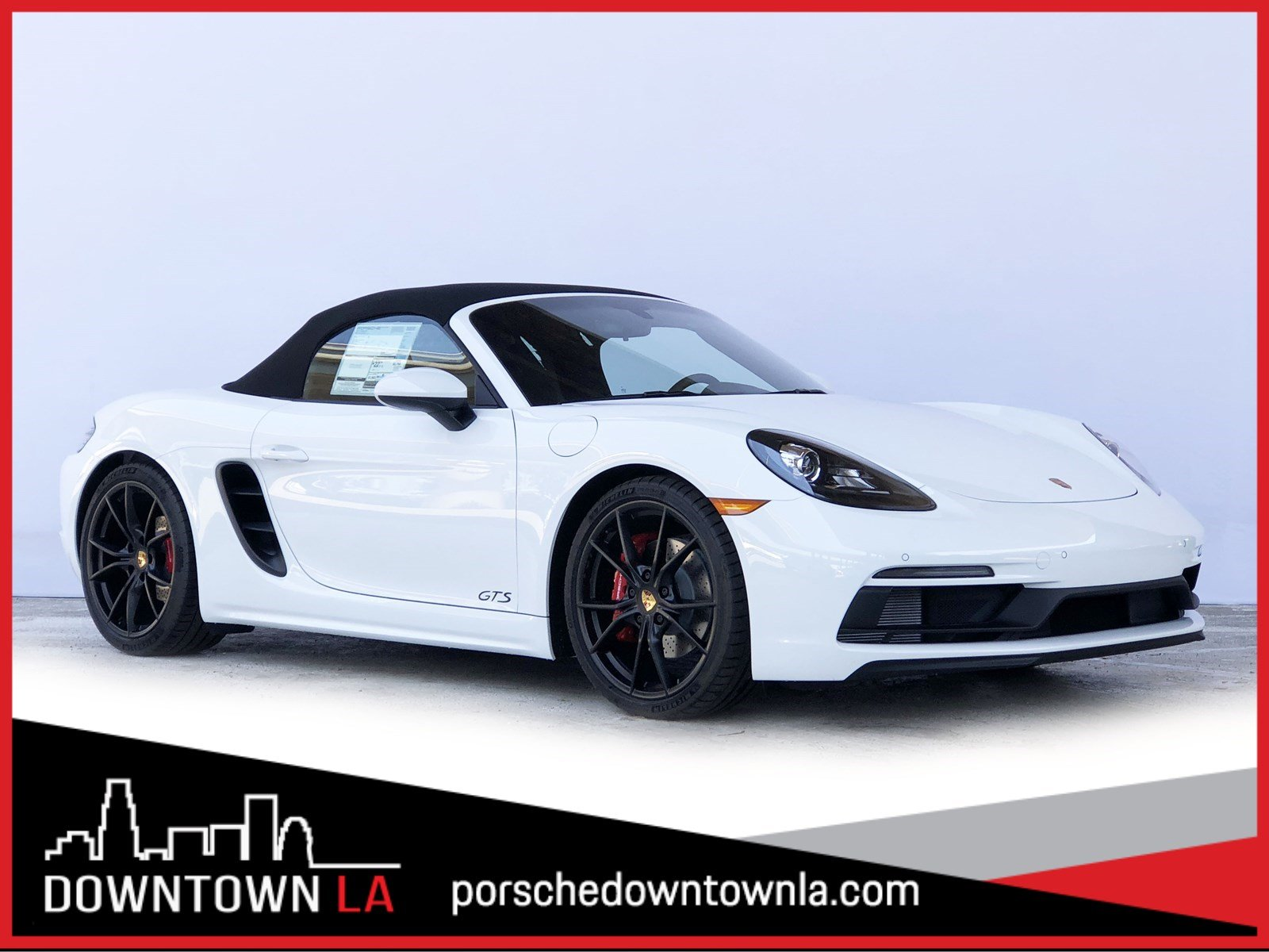 New 2018 Porsche 718 Boxster GTS RWD Convertible