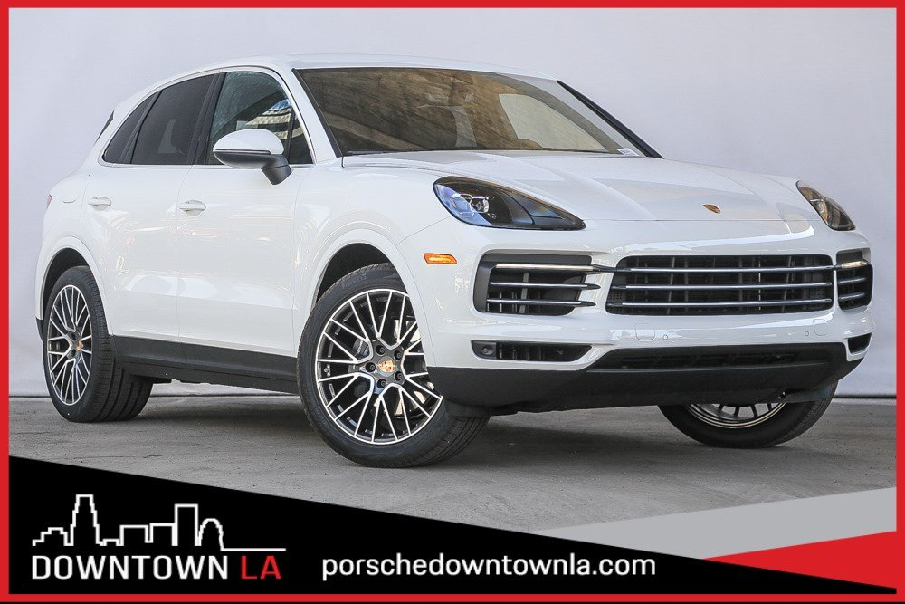 New 2019 Porsche Cayenne Sport Utility In Los Angeles P9a04443 Downtown La